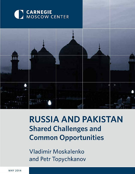 RUSSIA AND PAKISTAN. Shared Challenges and Common Opportunities
